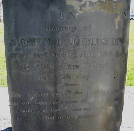 JAMESON, SAMUEL - Preble County, Ohio | SAMUEL JAMESON - Ohio Gravestone Photos