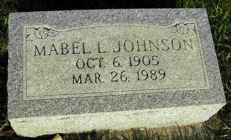 JOHNSON, MABEL L. - Preble County, Ohio | MABEL L. JOHNSON - Ohio Gravestone Photos