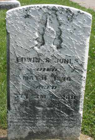JONES, EDWIN - Preble County, Ohio | EDWIN JONES - Ohio Gravestone Photos