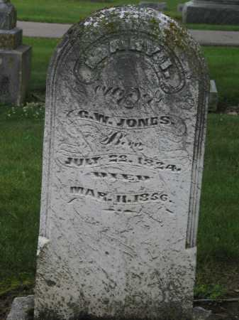 JONES, MARY ISABELLA - Preble County, Ohio | MARY ISABELLA JONES - Ohio Gravestone Photos