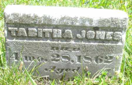 JONES, TABITHA - Preble County, Ohio | TABITHA JONES - Ohio Gravestone Photos