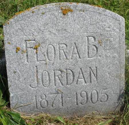 JORDAN, FLORA B. - Preble County, Ohio | FLORA B. JORDAN - Ohio Gravestone Photos