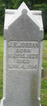 JORDAN, J.R. - Preble County, Ohio | J.R. JORDAN - Ohio Gravestone Photos