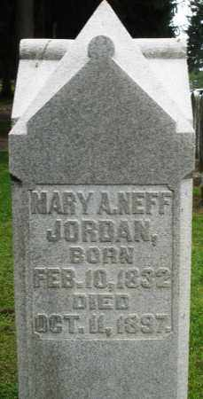 JORDAN, MARY A. - Preble County, Ohio | MARY A. JORDAN - Ohio Gravestone Photos