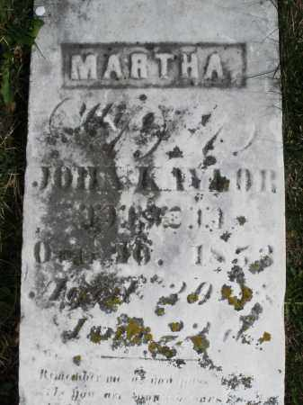 KAYLOR, MARTHA - Preble County, Ohio | MARTHA KAYLOR - Ohio Gravestone Photos