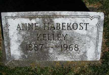 KELLEY, ANNE - Preble County, Ohio | ANNE KELLEY - Ohio Gravestone Photos