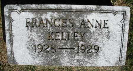KELLEY, FRANCES ANNE - Preble County, Ohio | FRANCES ANNE KELLEY - Ohio Gravestone Photos