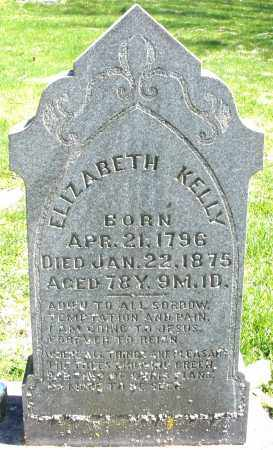 KELLY, ELIZABETH - Preble County, Ohio | ELIZABETH KELLY - Ohio Gravestone Photos