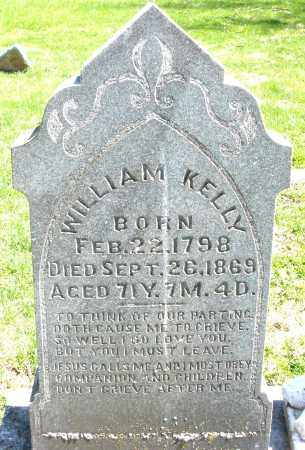 KELLY, WILLIAM - Preble County, Ohio | WILLIAM KELLY - Ohio Gravestone Photos