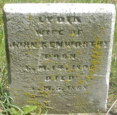 KENWORTHY, LYDIA - Preble County, Ohio | LYDIA KENWORTHY - Ohio Gravestone Photos