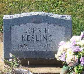 KESLING, JOHN - Preble County, Ohio | JOHN KESLING - Ohio Gravestone Photos