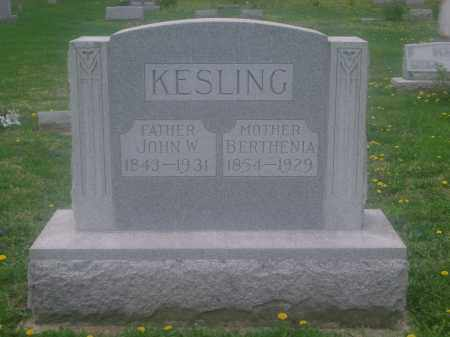 DOTY KESLING, BERTHENIA - Preble County, Ohio | BERTHENIA DOTY KESLING - Ohio Gravestone Photos