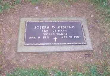 KESLING, JOSEPH - Preble County, Ohio | JOSEPH KESLING - Ohio Gravestone Photos