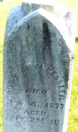KESSLER, ? H.M. - Preble County, Ohio | ? H.M. KESSLER - Ohio Gravestone Photos