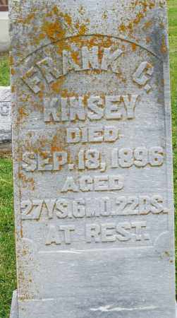 KINSEY, FRANK - Preble County, Ohio | FRANK KINSEY - Ohio Gravestone Photos