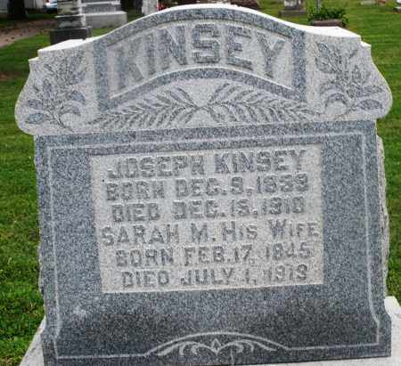 KINSEY, SARAH M. - Preble County, Ohio | SARAH M. KINSEY - Ohio Gravestone Photos