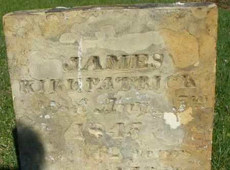 KIRKPATRICK, JAMES - Preble County, Ohio | JAMES KIRKPATRICK - Ohio Gravestone Photos