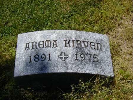 KIRVEN, AREMA - Preble County, Ohio | AREMA KIRVEN - Ohio Gravestone Photos