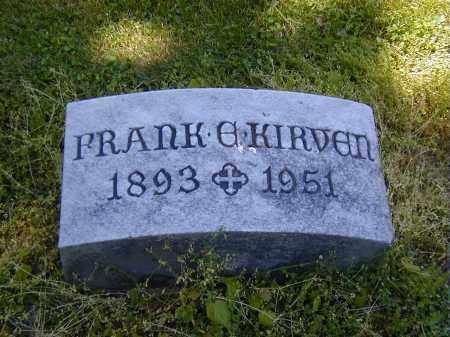 KIRVEN, FRANK E. - Preble County, Ohio | FRANK E. KIRVEN - Ohio Gravestone Photos