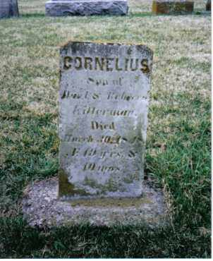 KITTERMAN, CORNELIUS - Preble County, Ohio | CORNELIUS KITTERMAN - Ohio Gravestone Photos