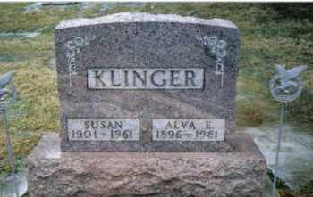 KLINGER, ALVA E. - Preble County, Ohio | ALVA E. KLINGER - Ohio Gravestone Photos
