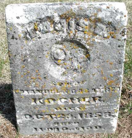 KOGHER, LOUIS A. - Preble County, Ohio | LOUIS A. KOGHER - Ohio Gravestone Photos