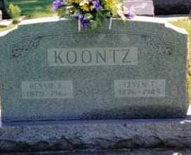 KOONTZ, BESSIE E. - Preble County, Ohio | BESSIE E. KOONTZ - Ohio Gravestone Photos