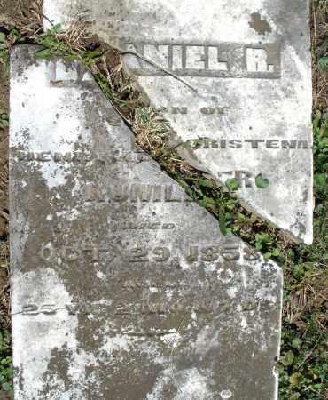 KUMLER, DANIEL R. - Preble County, Ohio | DANIEL R. KUMLER - Ohio Gravestone Photos
