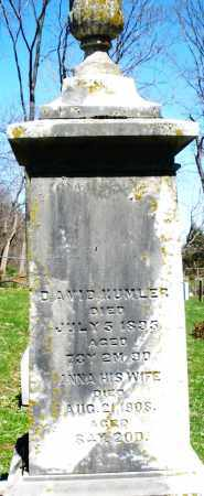KUMLER, DAVID - Preble County, Ohio | DAVID KUMLER - Ohio Gravestone Photos