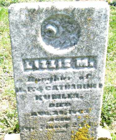 KUMLER, LIZZIE M. - Preble County, Ohio | LIZZIE M. KUMLER - Ohio Gravestone Photos