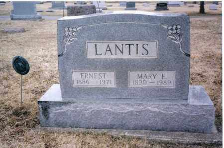 LANTIS, ERNEST - Preble County, Ohio | ERNEST LANTIS - Ohio Gravestone Photos