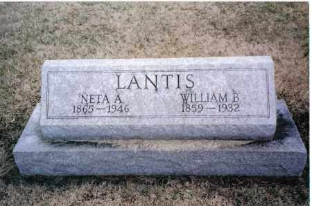 LANTIS, WILLIAM B. - Preble County, Ohio | WILLIAM B. LANTIS - Ohio Gravestone Photos