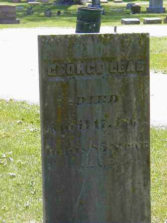 LEAS, GEORGE - Preble County, Ohio | GEORGE LEAS - Ohio Gravestone Photos