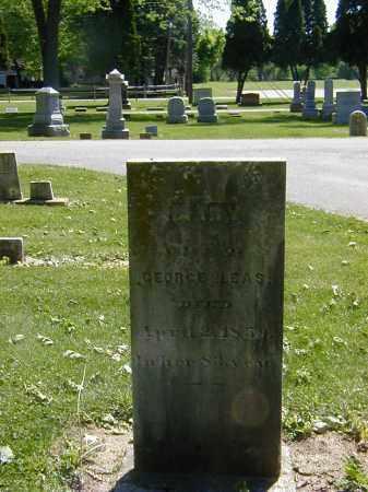 LEAS, MARY - Preble County, Ohio   MARY LEAS - Ohio Gravestone Photos