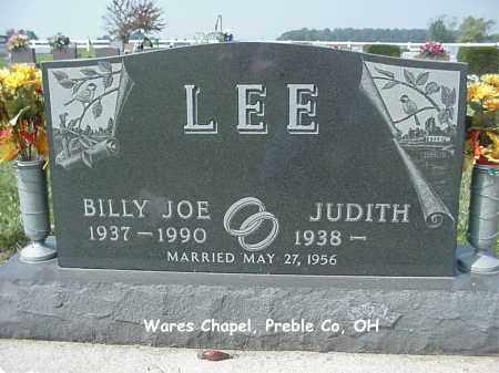 LEE, BILLY - Preble County, Ohio | BILLY LEE - Ohio Gravestone Photos