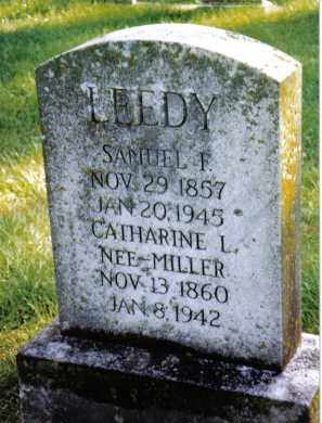 MILLER LEEDY, CATHARINE L. - Preble County, Ohio | CATHARINE L. MILLER LEEDY - Ohio Gravestone Photos