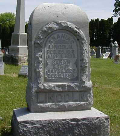 LINCOLN, ANANIAS - Preble County, Ohio | ANANIAS LINCOLN - Ohio Gravestone Photos
