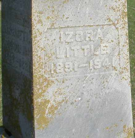 LITTLE, IZORA - Preble County, Ohio | IZORA LITTLE - Ohio Gravestone Photos