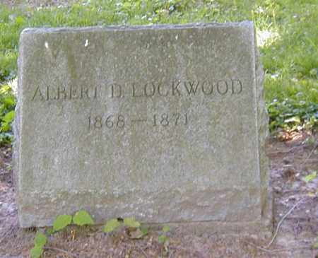 LOCKWOD, ALBERT D. - Preble County, Ohio | ALBERT D. LOCKWOD - Ohio Gravestone Photos