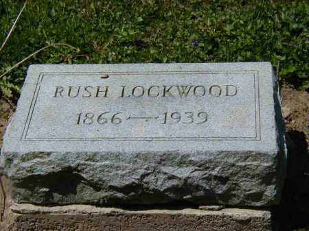 LOCKWOOD, RUSH - Preble County, Ohio | RUSH LOCKWOOD - Ohio Gravestone Photos