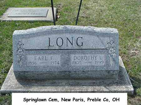 HEIGHER LONG, DOROTHY - Preble County, Ohio | DOROTHY HEIGHER LONG - Ohio Gravestone Photos