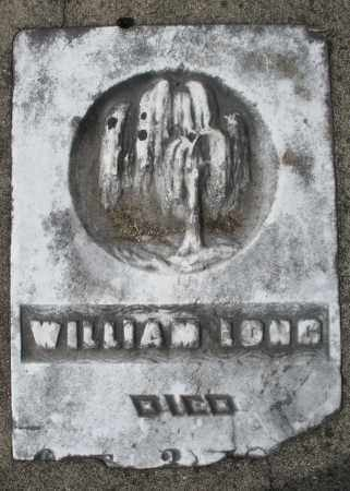 LONG, WILLIAM - Preble County, Ohio | WILLIAM LONG - Ohio Gravestone Photos