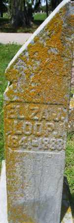 LOOP, ELIZA J. - Preble County, Ohio   ELIZA J. LOOP - Ohio Gravestone Photos