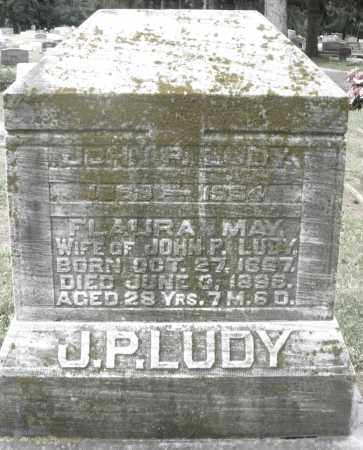 LUDY, JOHN P. - Preble County, Ohio | JOHN P. LUDY - Ohio Gravestone Photos
