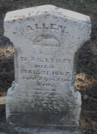 LYDAY, ALLEN - Preble County, Ohio | ALLEN LYDAY - Ohio Gravestone Photos