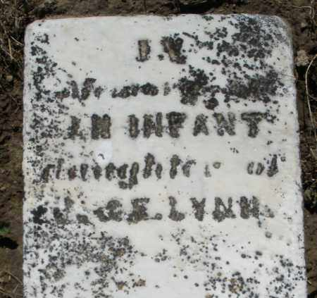 LYNN, INFANT DAUGHTER - Preble County, Ohio | INFANT DAUGHTER LYNN - Ohio Gravestone Photos