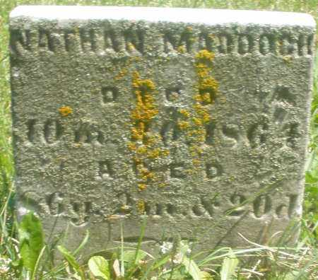 MADDOCK, NATHAN - Preble County, Ohio | NATHAN MADDOCK - Ohio Gravestone Photos