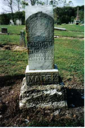 MAGEE, MATTIE E. - Preble County, Ohio | MATTIE E. MAGEE - Ohio Gravestone Photos