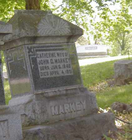 MARKEY, CATHERINE - Preble County, Ohio | CATHERINE MARKEY - Ohio Gravestone Photos