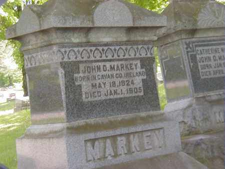 MARKEY, JOHN D. - Preble County, Ohio | JOHN D. MARKEY - Ohio Gravestone Photos